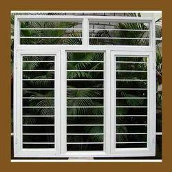 Rectangular White Window Frame