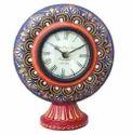 Handicraft Analog Table Clock for Gifting