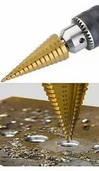 Stainless Steel Step Drill Bit, For Industrial