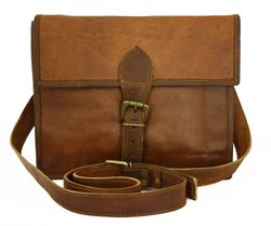 Single Belt Vintage Handmade Genuine Leather Handbag