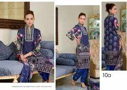 AL Dawood Three Star Original Lawn Collection Pakistani Printed Suits