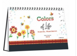 Table Calendar (colors Of Life)