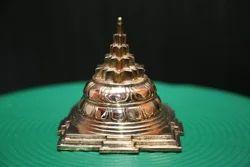 Mahameru 4 Inches x 4 Inches Panchaloham