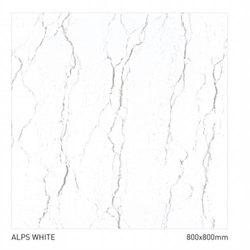 Ceramic Gloss 32'x32'ALPS White Vitrified Tile