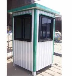 Construction Site Security Guard Cabins