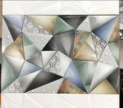 Multicolor Gloss 300x450mm Digital Wall Tiles, Thickness: 10-15 mm, For Home