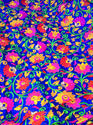 Flower Embroidered Fabric For Garment