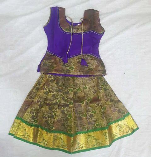 5b94d541f0 Pattu Pavadai Sattai - Pattu Pavadai Manufacturer from Tiruchirappalli