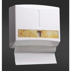 White Napkin Dispensers, Dimension/size: 13.7x11.5x8.3cm
