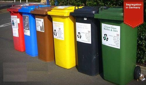 Biomedical Wheel Bin 120Ltr ( Red, Yellow, Blue and Green)