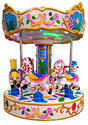 Horse Carousel Kiddy Multi Ride