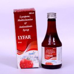 Methylcobalamine Lycopene Multivitamin Antioxidants Syrups