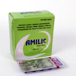 L-Leucine,L-Isoleucine, Lysine Hydrochloride, Phenylalanine Softgel Capsules