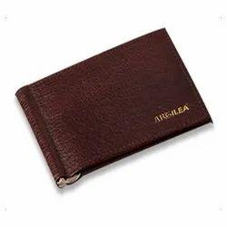 020 Leather Money Clip Wallet