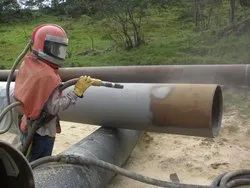 Pipe Copper Slag Blasting