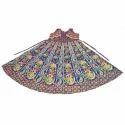 Jaipuri Long Cotton Kurti With Attached Jacket
