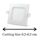 3W Slim LED Panel Light