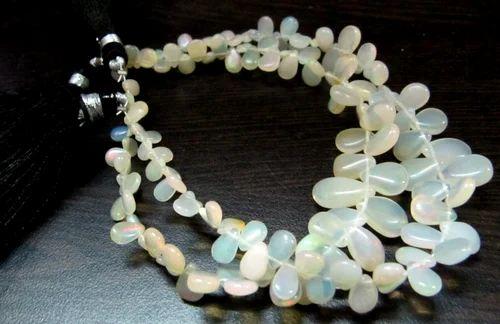 Natural AAA Peridot Gemstone 4.5 mm Beaded Neckace Jewelry For Women