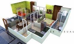 Architecture Apartment Renderings