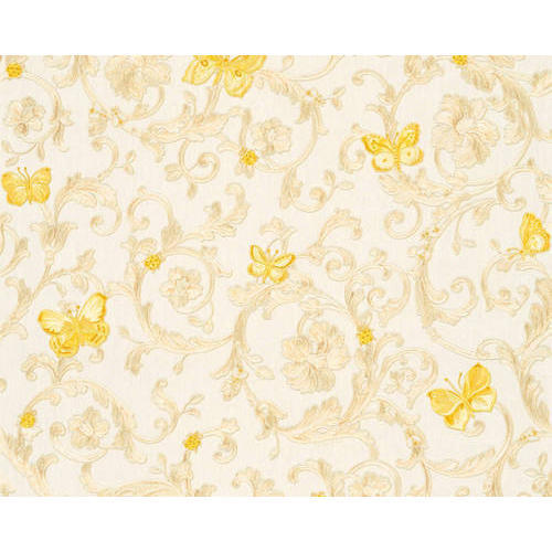 Non Woven Printed Designer Versace Wallpaper Thickness 1 10 Mm
