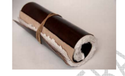 Handmade Leather Roll Up Scroll Journal