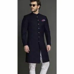Wedding Wear Plain Mens Fancy Indo Western Coat, Size: 34 - 44