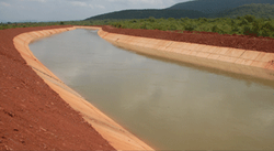 Canal Earthwork Irrigation Service