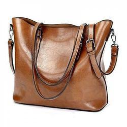 Ladies Leather Handbag, Yes