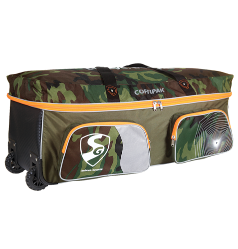 Army Printed Cricket Kit Bag With Wheel 04fe3835f221c