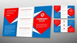 Tri-Fold Brochure Designing Services