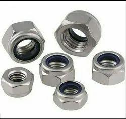 Mild Steel MS Nylock Nut M12x1.75 Din 982 Zinc Platting