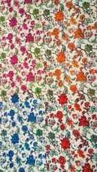 Multicolour Printed Cotton Fabric