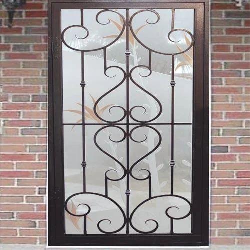 Iron Window Grill, लोहे की खिड़की की ग्रिल, Iron Window