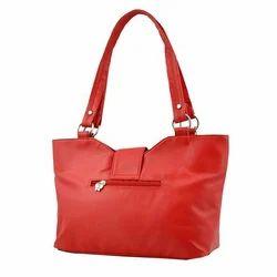 Plain Leather Butterflies Women Hand Bag
