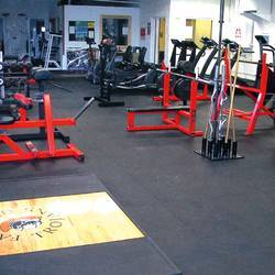 Gymnasium Rubber Flooring