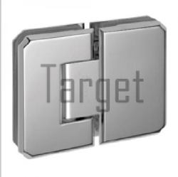 Bevelled Shower Hinge - 135 Glass to Glass Shower Hinge