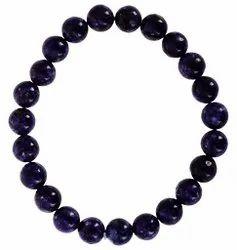Kesar Zems Amethyst Colour -Purple Colour Akik (Agate) Bracelet 100% Original and Natural