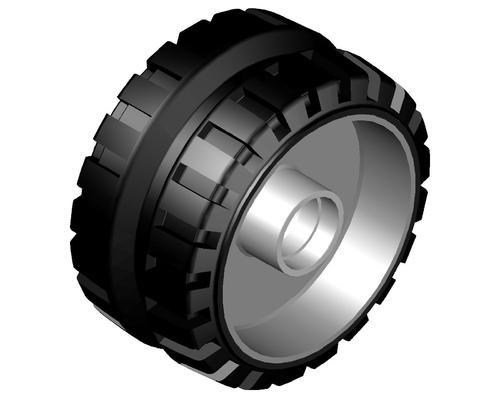 Paver Wheel Solid Tyre