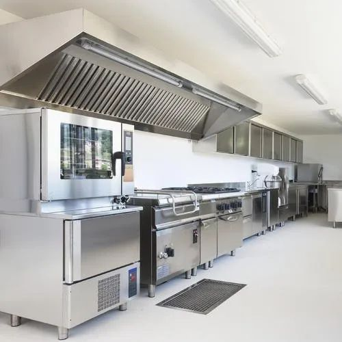 Mild Steel Kitchen Exhaust System