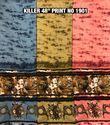 Killer Fabrics Printed