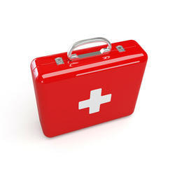 Steel First Aid Kit