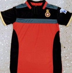 RCB Original Colors And Lycra Cotton RCB T Shirt