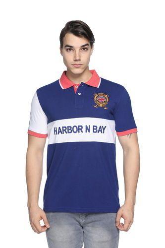 e80a5a79 Harbor N Bay Black Designer Polo Collar T-Shirt For Men, Rs 250 ...