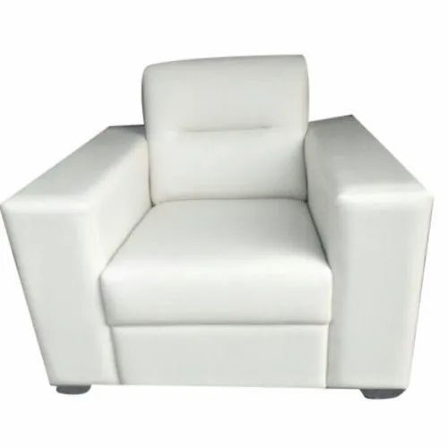 Pleasant White Single Seater Sofa Pabps2019 Chair Design Images Pabps2019Com