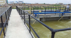 Water Retaining Structure Guardrail