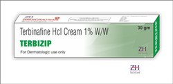 Terbizip Terbinafine HCL Cream, Packaging Size: 30 g, Packaging Type: Lami Tube