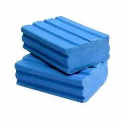 Blue 150gm Detergent Cake, Shape: Rectangle