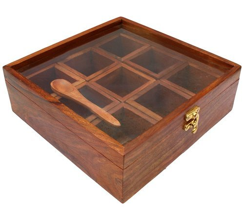 Wooden Spice Box At Rs 349 Piece Wooden Incense Box Jk