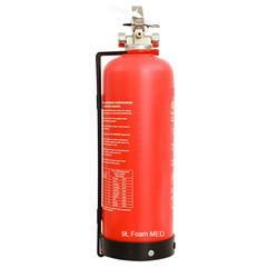 9L Foam MED Composite Corrosion Free Fire Extinguisher