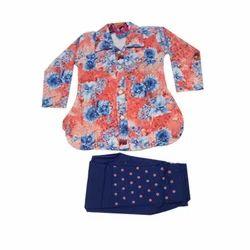 Cotton Printed Fancy Kids Party Wear Cloth Set